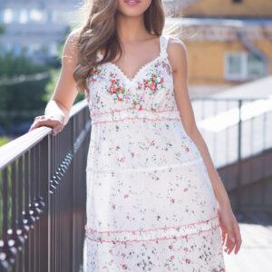 """16311 Платье домашнее женское Mia-Mia """"Daisy"""""""