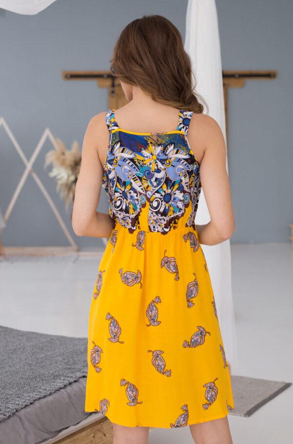 """16360 Платье домашнее женское Mia-Mia """"Sole Viva"""""""