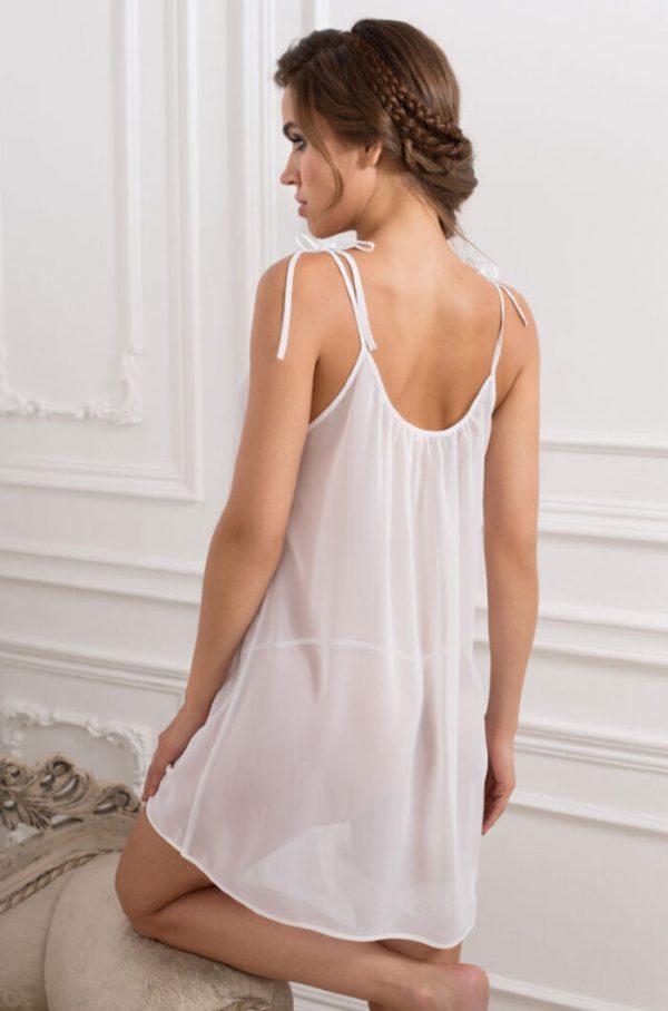 "17256 Mia-Mia Комплект (сорочка, стринги, подвязка) ""Lady in white"""