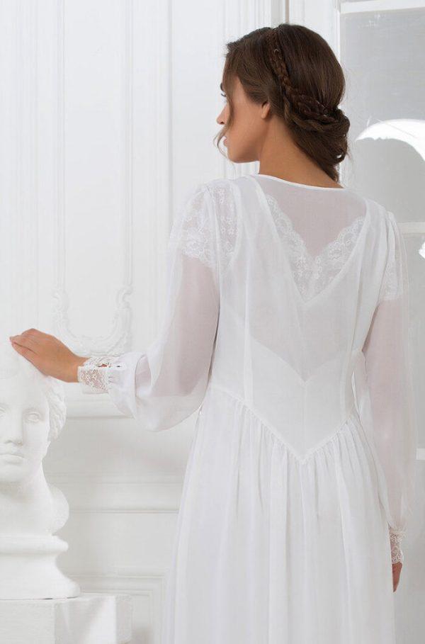 """17259 Mia-Mia Кимоно """"Lady in white"""""""