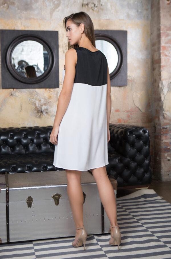 """17604 Платье домашнее женское Mia-Mia """"Black&White"""""""