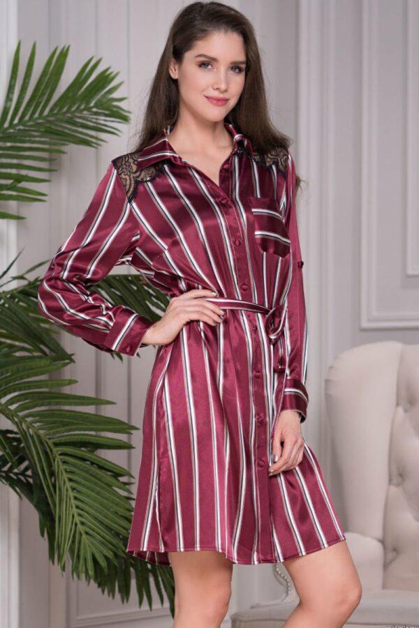 Длинная рубашка-платье Normandia