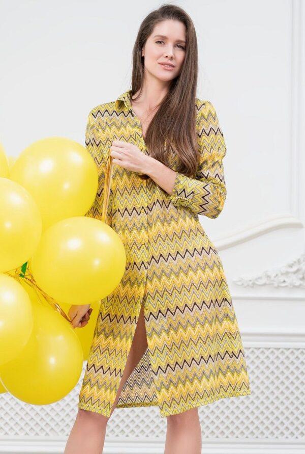 Пляжное платье-рубашка Missoni