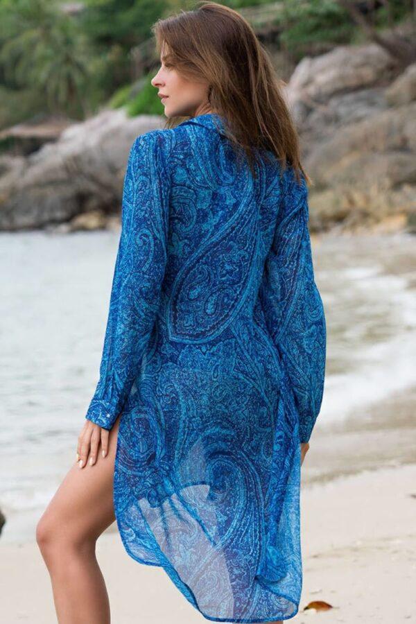 Платье-рубашка Riviera на пуговицах