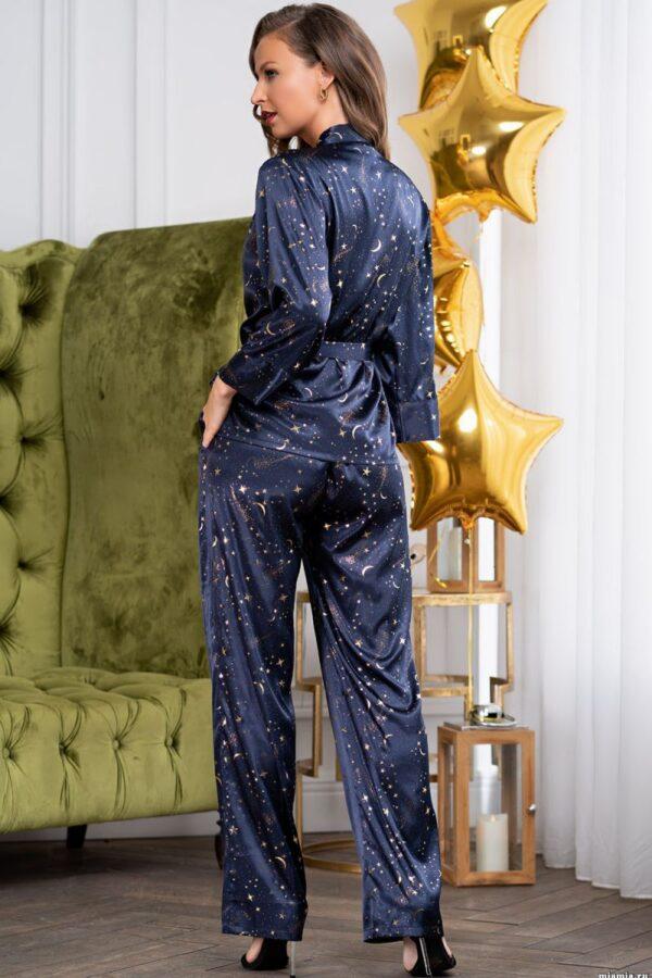 Пижамный комплект из атласного полотна Starlight