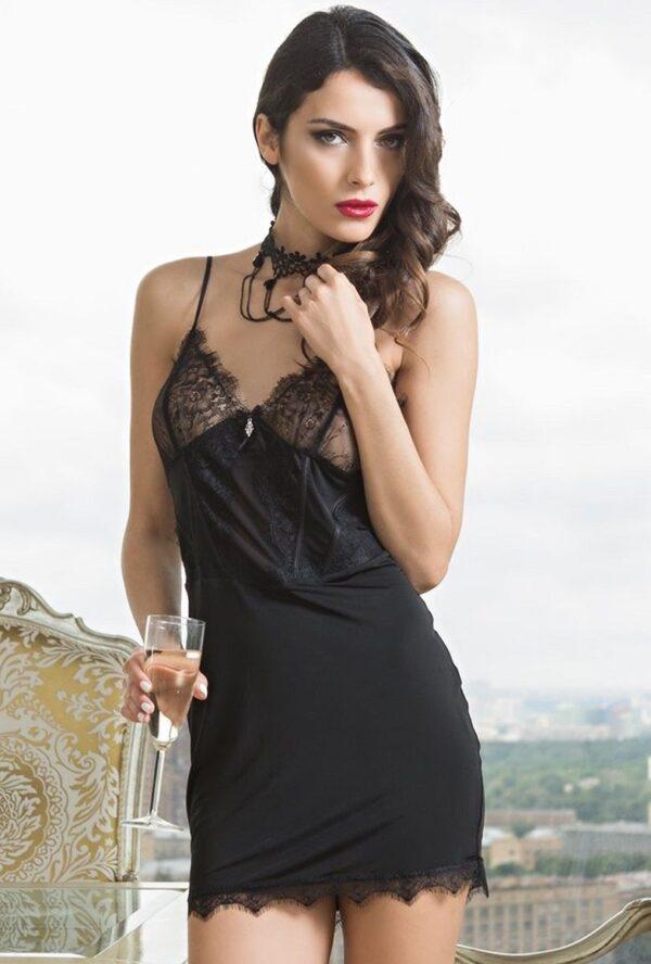 Пикантная кружевная сорочка Glamour