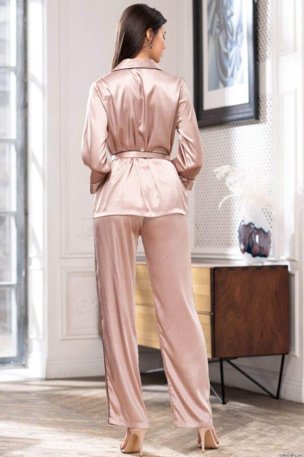 Изящный шелковый пижамный комплект Gabriella