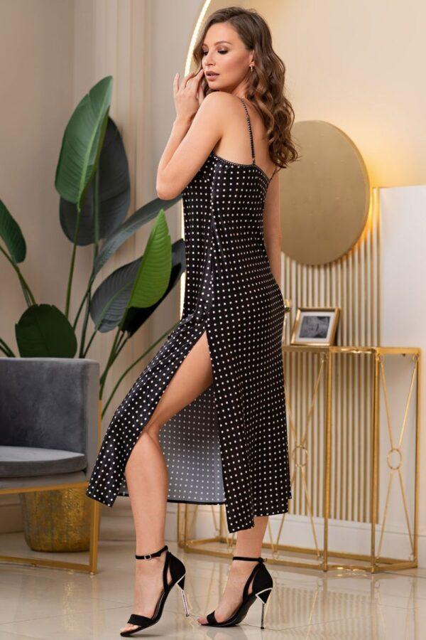 Длинная сорочка Camilla из искусственного шелка