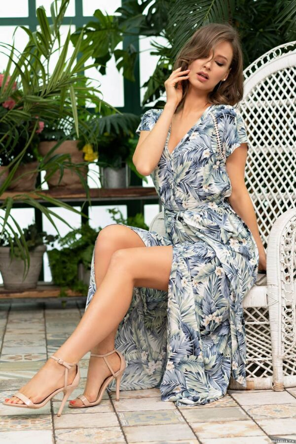 Удлиненное платье-рубашка Madeira на пуговках