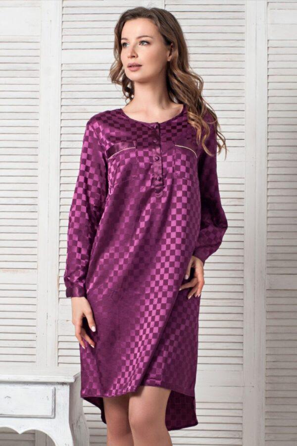 Платье-туника с длинными рукавами Antuanetta