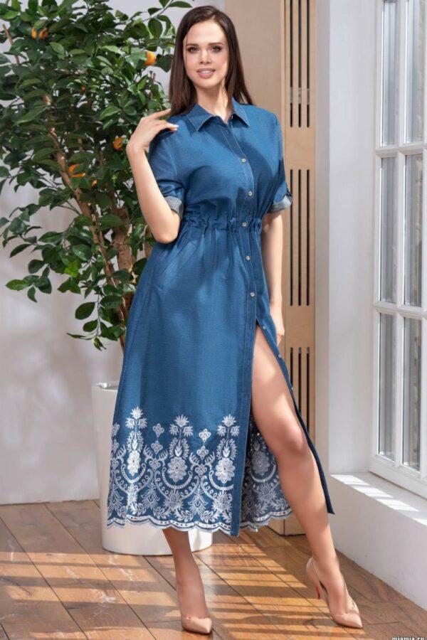 Стильное платье-накидка Montana