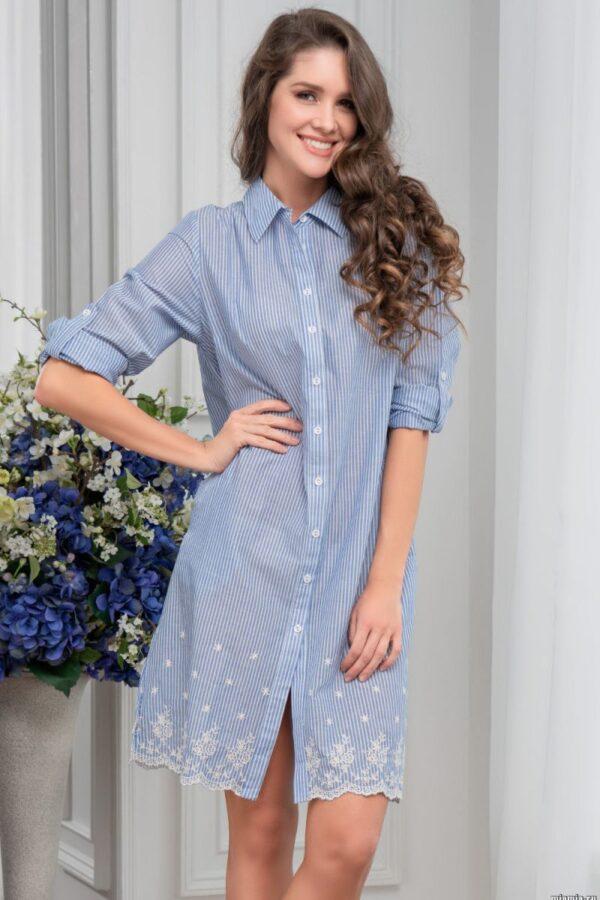Рубашка-платье Nizza прямого силуэта