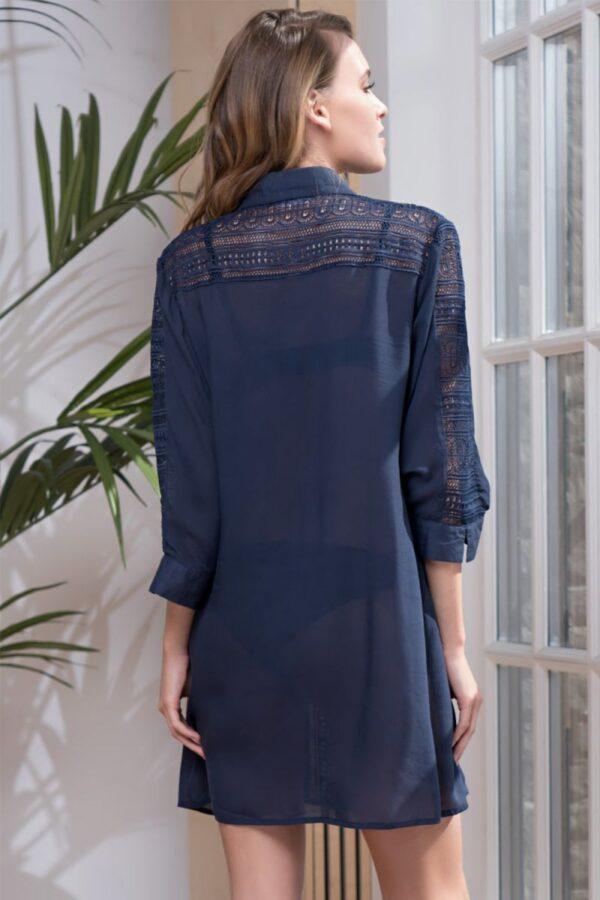 Платье-рубашка Siesta из хлопка