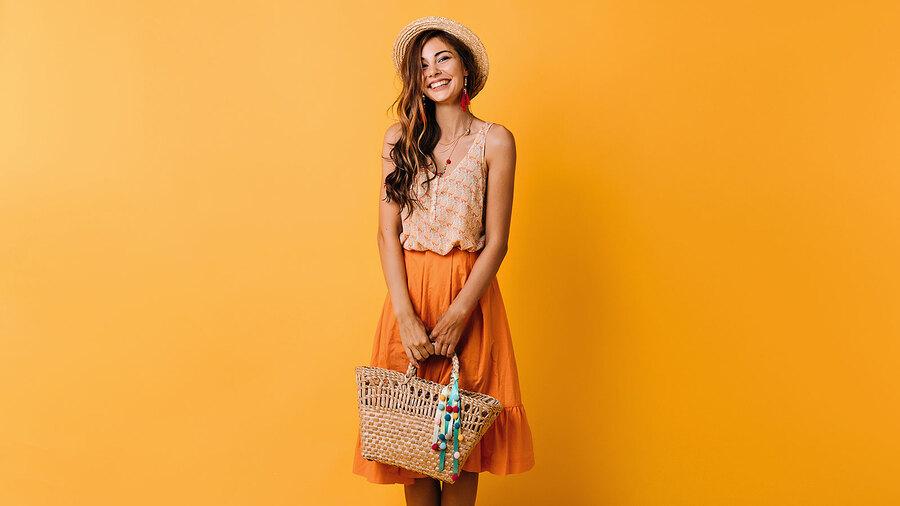 Оранжевый цвет улучшает настроение