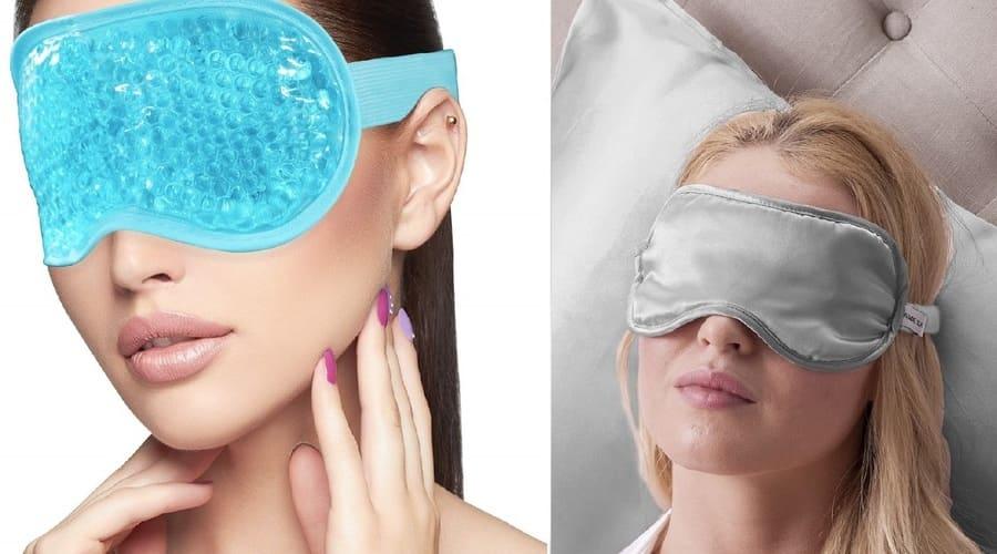 Разновидности масок для сна