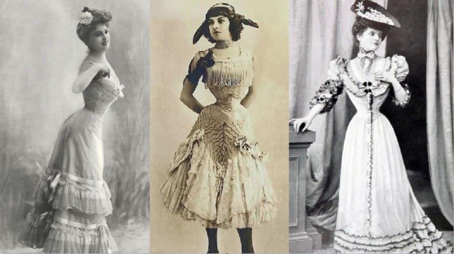 Женщины в корсетах