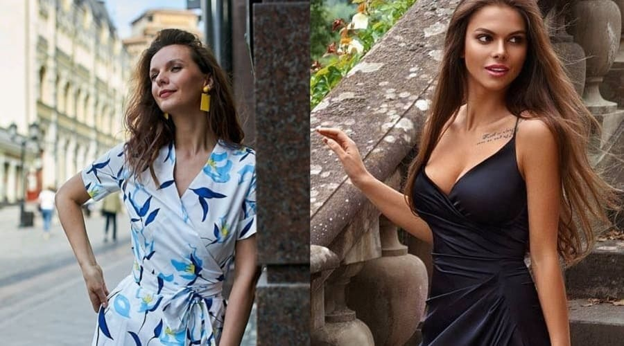 Стильные платья в разных расцветках